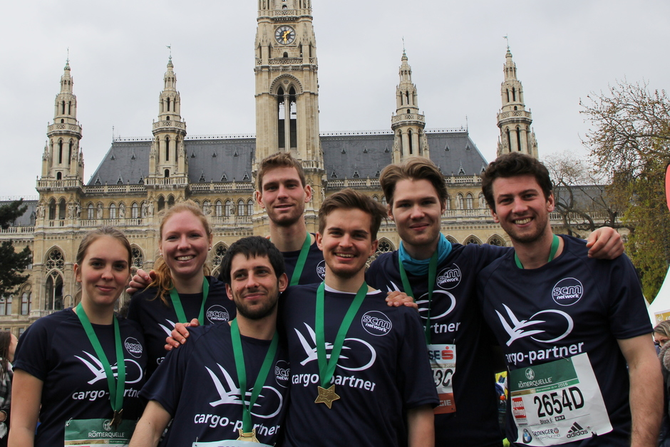 #SCMgoes 33rd Vienna City Marathon