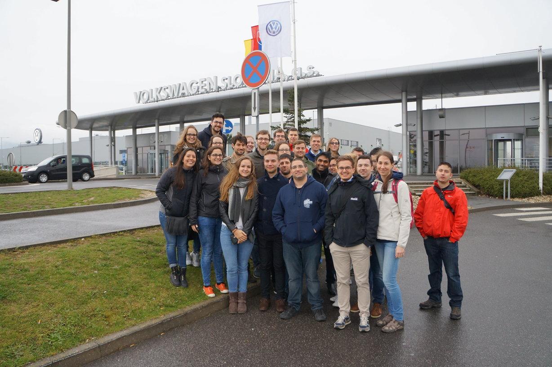 #SCMgoes Volkswagen Field Trip