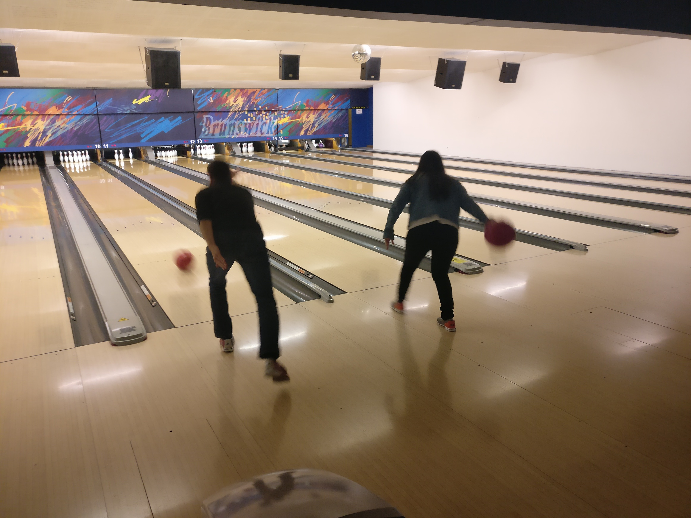 #SCMgoes Bowling