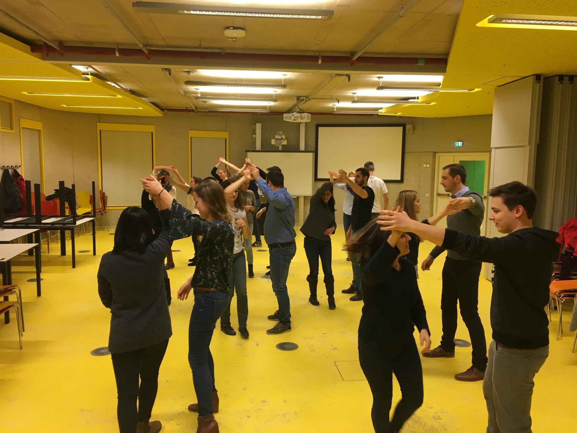 #SCMgoes Ballroom Dancing