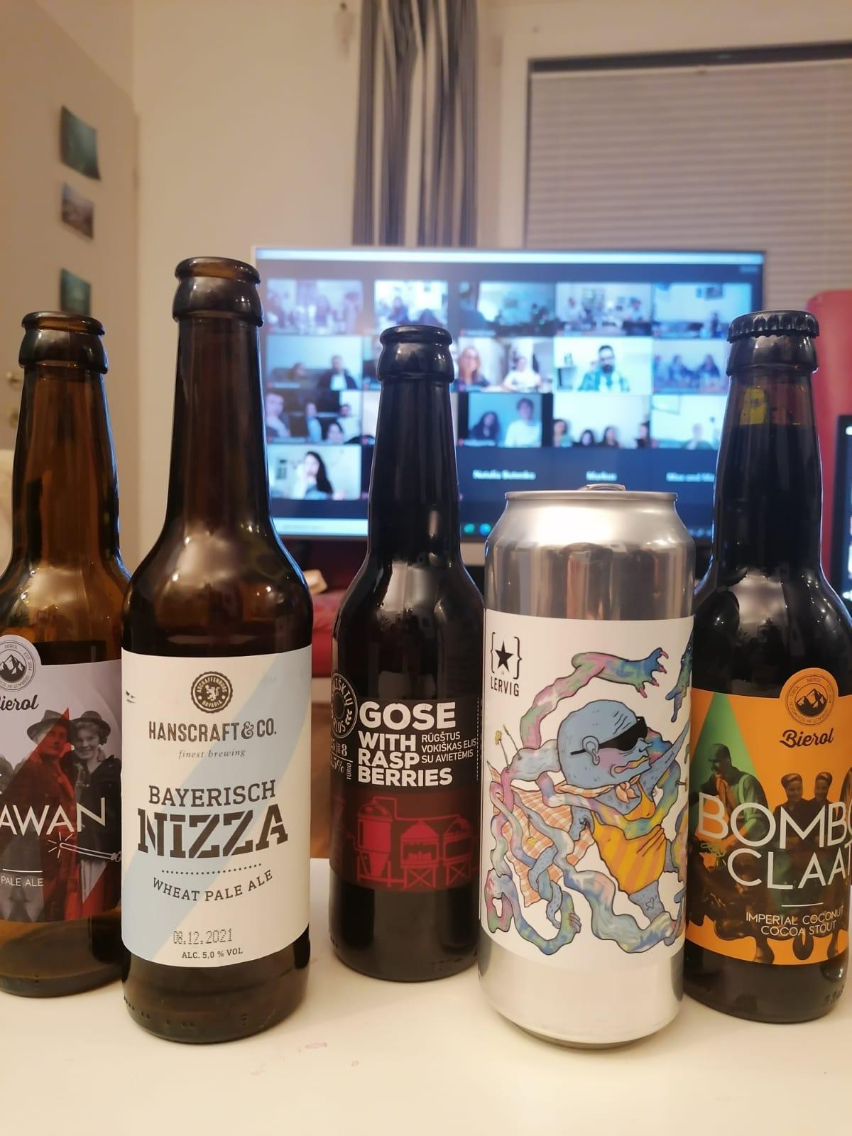 #SCMgoes Virtual Beer Tasting